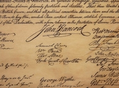 John Hancock's signature