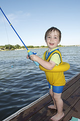 kid fishing